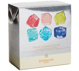 Iced teas collection - 12 individually-wrapped sachets - Dammann Frères