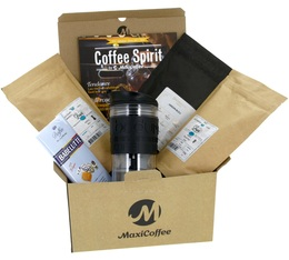 Coffret Cadeau Mug Travel Press - Isotherme