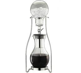 Cafetière Tiamo extraction à froid en verre/inox