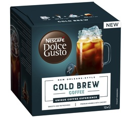 12 capsules Dolce Gusto Cold Brew