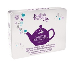 English Tea Shop Selection of organic winter teas and infusions - 36 individual sachets