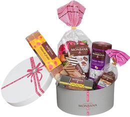 Coffret Chocolat (corbeille chapeau) - Monbana