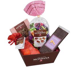 Coffret Chocolat (corbeille dégustation) - Monbana