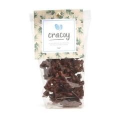 Pignons de pin et amandes torréfiés chocolat noir - Sachet 100g - Cracoy