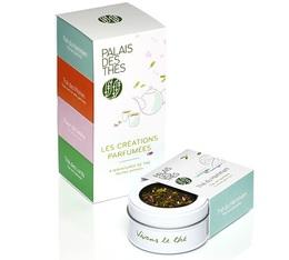 Coffret les créations parfumées - 4 miniatures de 30g de thé - Palais des Thés