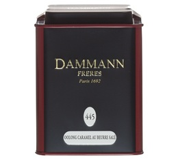 Boite Dammann N°445 - Oolong caramel beurre salé - 100gr