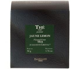 Thé Vert Citron Jaune Lemon Dammann x 25 sachets Cristal