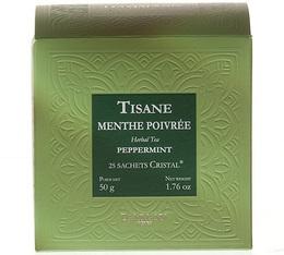 Tisane Menthe Poivrée Herboristerie d'Orgeval - boîte de 25 sachets cristals