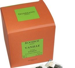 Rooibos à la vanille Dammann - 25 sachets cristals