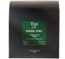 Thé Vert Soleil Vert Dammann x 25 sachets Cristal