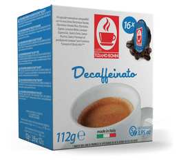 Caffè Bonini Decaffeinato capsules for Lavazza A Modo Mio machines x16