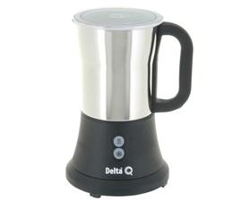 Mousseur à lait MILQ électrique noir et chrome - Delta Q