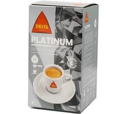 Dosette ESE café platinium Delta cafés x16