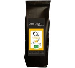 Café aromatisé Vanille 100% Arabica et 100% bio - 125g