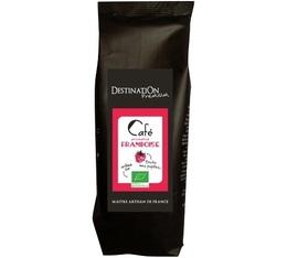 Café aromatisé Framboise 100% arabica et 100% bio - 125g