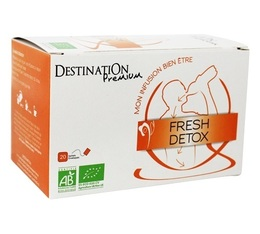 Destination Organic 'Fresh Detox' Herbal Tea - 20 sachets