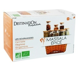 Destination organic 'Massala épicé' Herbal Tea - 20 sachets