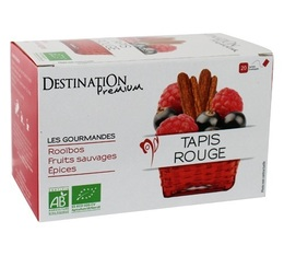 Destination 'Tapis Rouge' organic fruity rooibos - 20 sachets