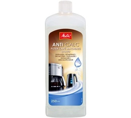 Détartrant Melitta Anti calc liquide 250ml pour cafetières filtres et bouilloires