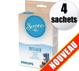Détartrant Senseo HD7011 (Produit officiel) - 4 sachets de détartrage