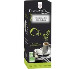 Dosette    café bio décaféiné x 25 dosettes ESE