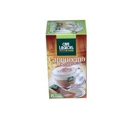 caf dosettes souples cappuccino cioccolato et sticks x8 caf liegeois. Black Bedroom Furniture Sets. Home Design Ideas