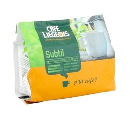 Café dosettes souples Subtil x18 - Café Liegeois