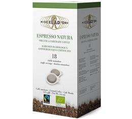 Dosettes ESE Espresso Natura Bio x18 - Miscela d'Oro