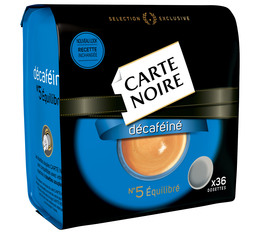 Carte Noire N°5 Decaffeinated coffee pods for Senseo x36