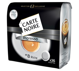 Carte Noire 'Espresso N°8' coffee pods for Senseo x36