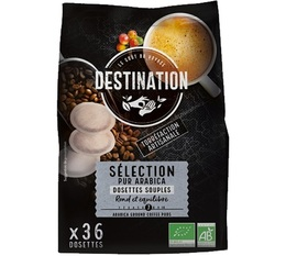 Destination Selection N°1 organic coffee soft pods for Senseo x 36