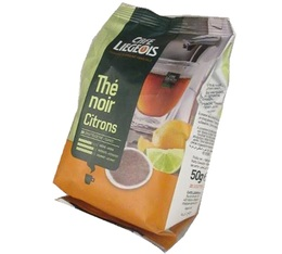 Café Liégeois 'Lemon and Lime black tea' Senseo pods x 20