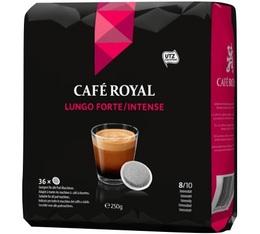 Dosettes souples Café Royal Lungo Forte x36