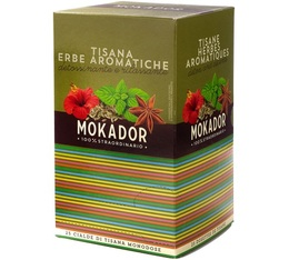 Mokador Castellari Relaxing herbal tea ESE pods x 25