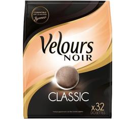 Dosettes souples Classic x32 - Velours Noir