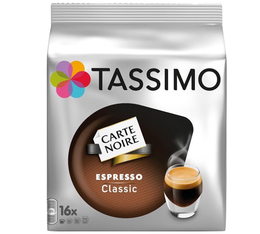 16 t discs tassimo expresso classic carte noire. Black Bedroom Furniture Sets. Home Design Ideas