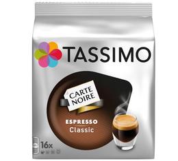 Dosette Tassimo Carte Noire Expresso Classic - 16 T-Discs