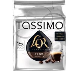 Dosette Tassimo L'Or Espresso Forza - 16 T-Discs