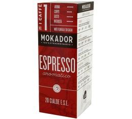 Dosette café Mokador Castellari Aromatico x 20