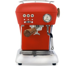Machine expresso Ascaso Dream PID Rouge matte finition Bois