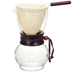 Hario DPW Drip Pot with cloth filter for 3-4 cups