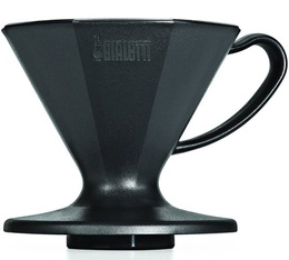 Dripper Bialetti 6363 conique noir 2 tasses