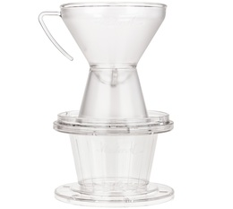 Dripper The Gabi Master A fond plat en plastique - 1 tasse