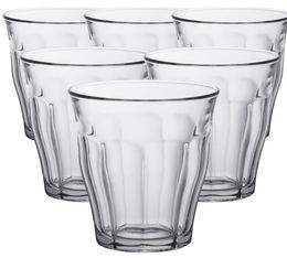 Duralex Picardie glasses - 6 x 250ml