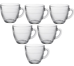 DURALEX Gigogne glass cups with handle - 6 x 220ml