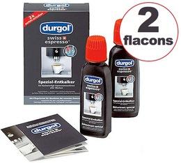 2 x 125ml Détartrant Durgol universel pour machine expresso