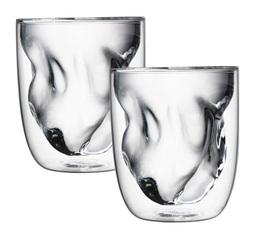 Set 2 verres Elements Terre double paroi 21cl - QDO