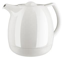 ELLIPSE pichet à thé isotherme isotherme, fermeture à vis, 0,6 L, blanc