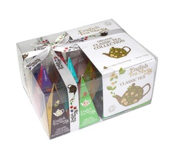 Organic teas and herbal teas selection - The Classic Tea Collection - 12 tea bags of 12 different flavours - English Tea
