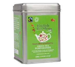 Boite Métal - Thé Vert Grenade - Green Tea Pommegrenate - 100g - English Tea Shop